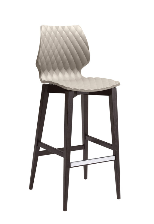 Uni 386 Wood Barstool by Metal Mobil
