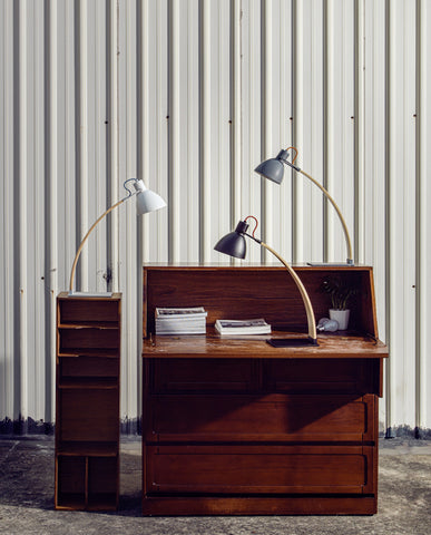 Laito Wood Table Lamp by Seed Design