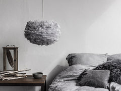 Eos Light Grey Pendant by VITA Copenhagen