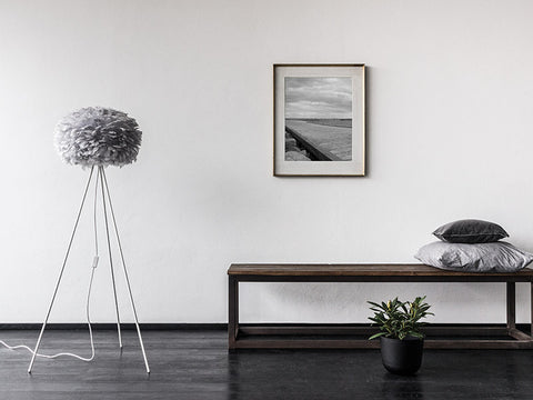 Eos Light Grey Floor Lamp by VITA Copenhagen