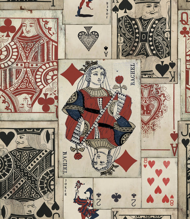 Play Cards Wallpaper by Mindthegap