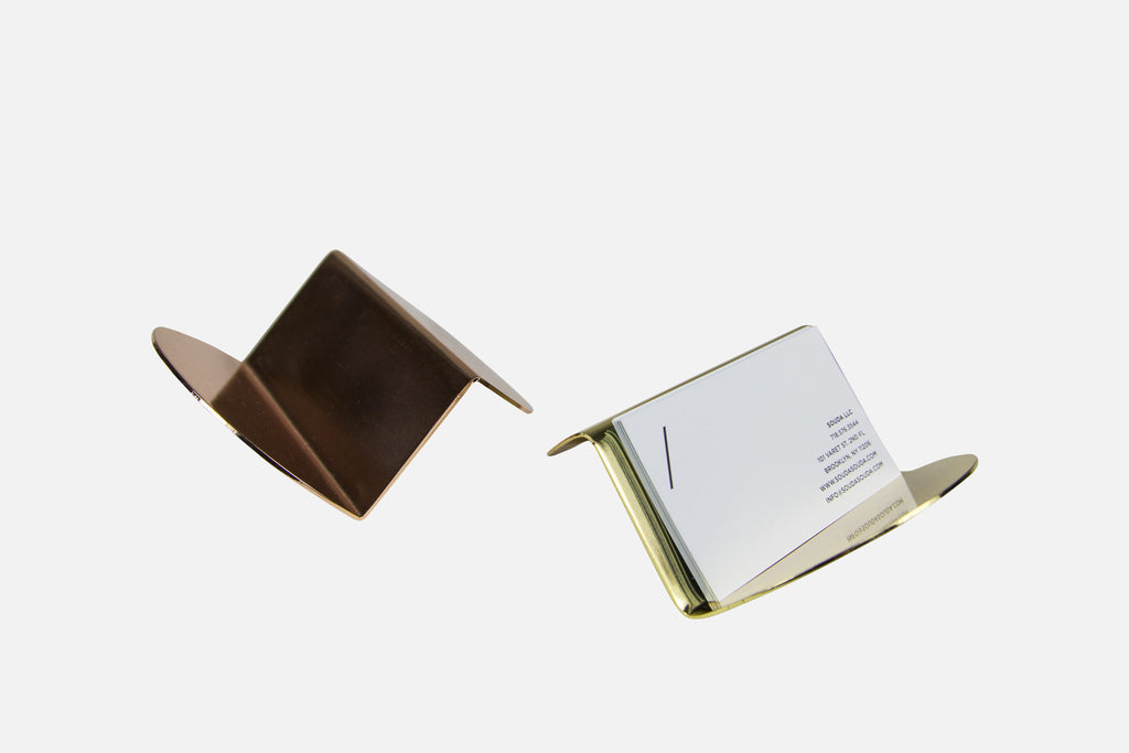 Wave Business Card Holder by Souda