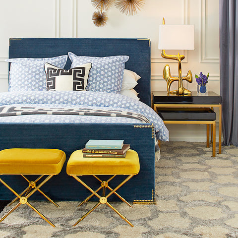 Connery Queen Bed by Jonathan Adler