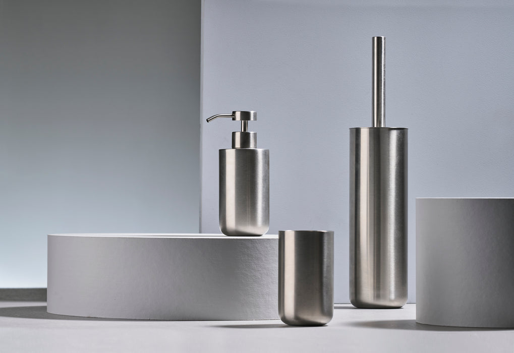 Steel Bathroom Set by Zone Denmark