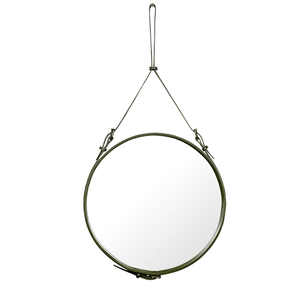 Jacques Adnet Circulaire Mirror by Gubi