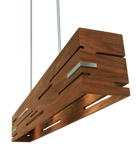 Aeris Linear LED Pendant by Cerno (Made in USA)