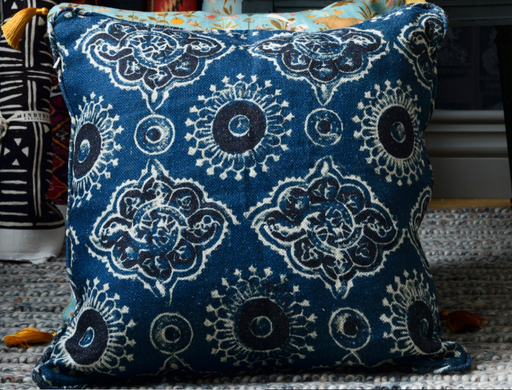 Ajrak Cushion by Mindthegap