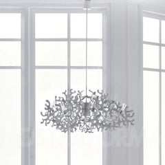 Lumen Center Coral Suspension Lamp