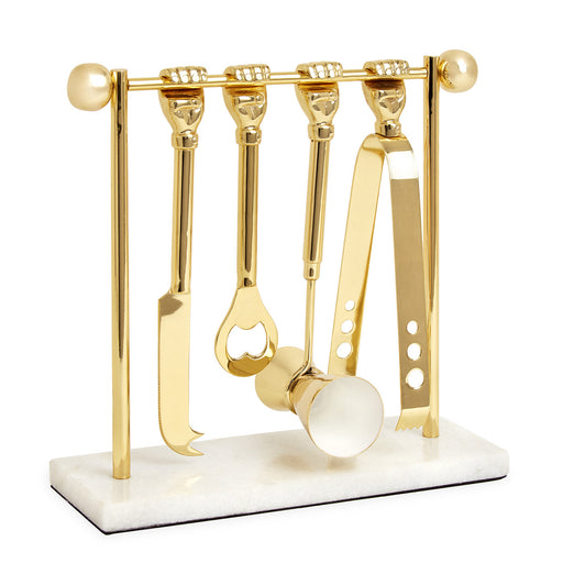 Barbell Bar Set by Jonathan Adler