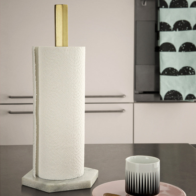 Hexagon Paper Towel Stand by Ferm Living