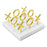Brass Tic Tac Toe Set by Jonathan Adler
