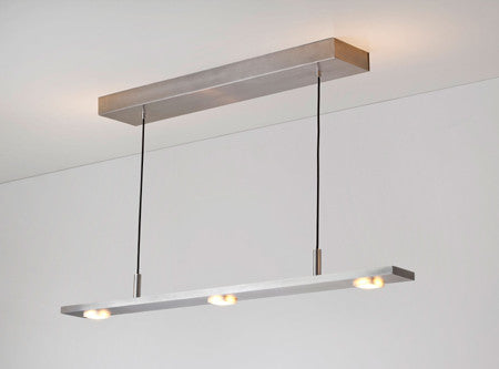Brevis Linear LED Pendant by Cerno Made in USA