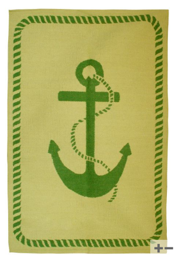 Junior Anchor Rug by Jonathan Adler