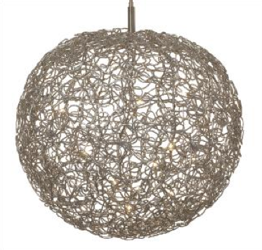 Harco Loor Ball 3mm wire Suspension Light