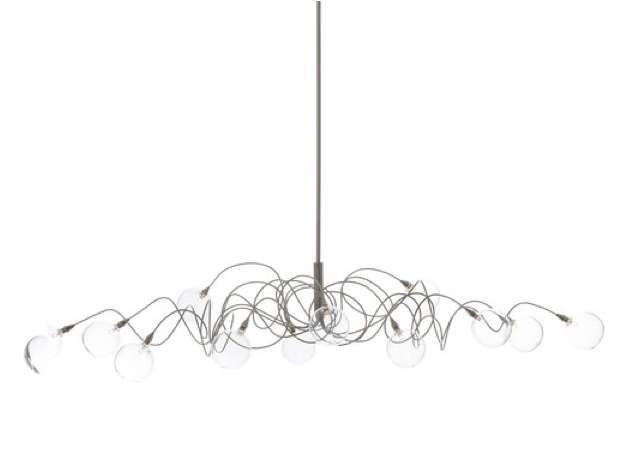 Harco Loor Big Bubbles Oval Suspension Light