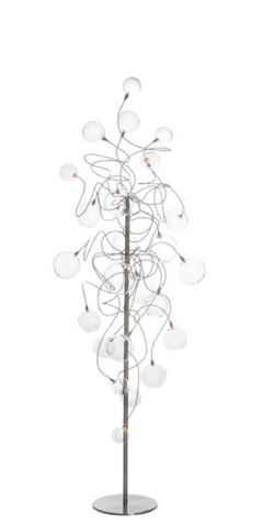 Harco Loor Bubbles Long Floor Lamp