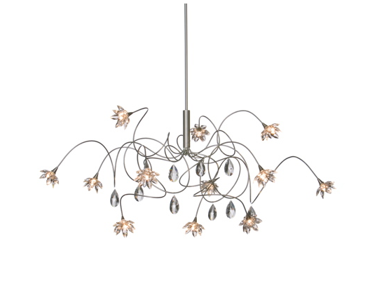 Harco Loor Crystal Suspension Light