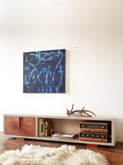 Stone Credenza by Castor