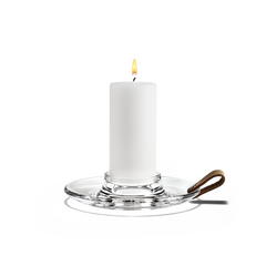 Design with Light Holder for Pillar Candles by Holmegaard