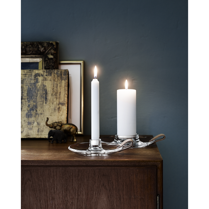 Design With Light Chamber Candlestick Holder by Holmegaard