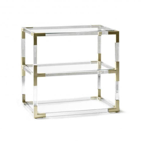Jacques Two Tier Console Table by Jonathan Adler