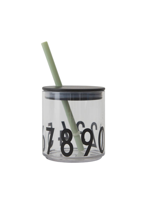 Straw Lid for Kids Drinking Glass by Design Letters