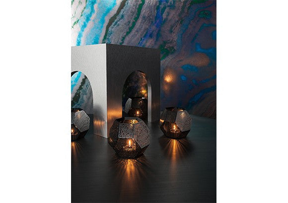 Etch Wood Tea Light Holder by Tom DIxon