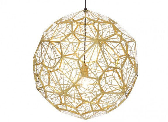 Etch Web Pendant by Tom Dixon