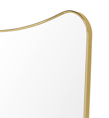 F.A.33 Rectangular Wall Mirror by Gubi