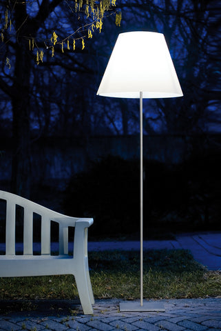 Luceplan Grande Costanza Open Air Floor Lamp