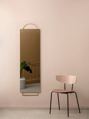 Adorn Mirror Brass by Ferm Living (Full)