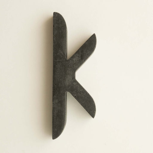 Glyph K Wall Hook by Alice Tacheny