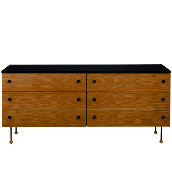 "Greta Grossman Dresser 6 ""62 Series"" by Gubi"