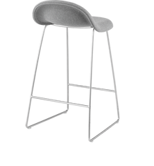 Gubi 33A Counter Stool - Fully Upholstered