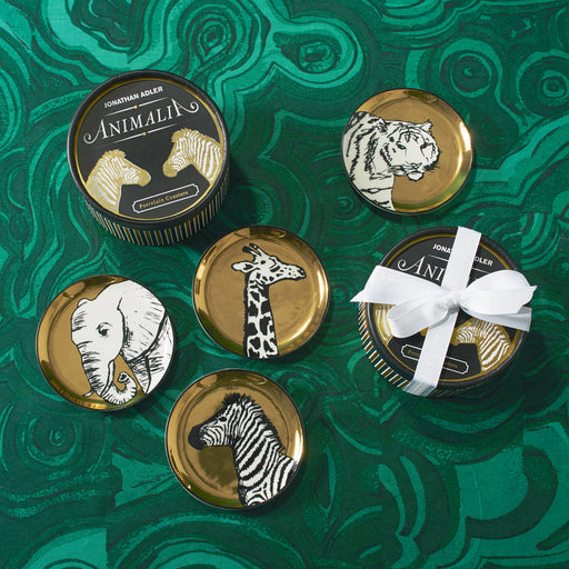 Animalia Coasters by Jonathan Adler