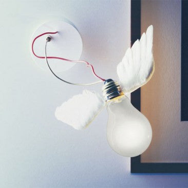 Lucellino Wall Lamp (Used w/ Remote Transformer) by Ingo Maurer