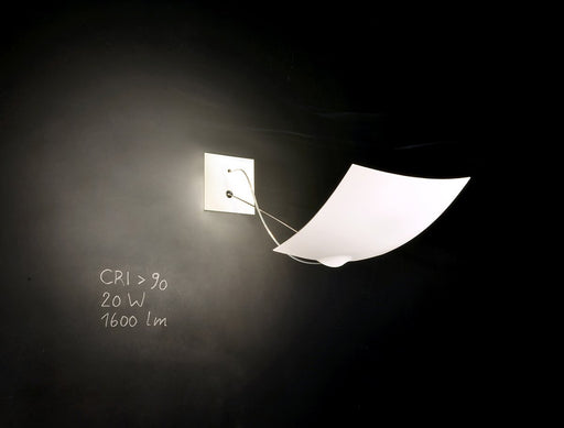 18 x 18 Wall Lamp by Ingo Maurer