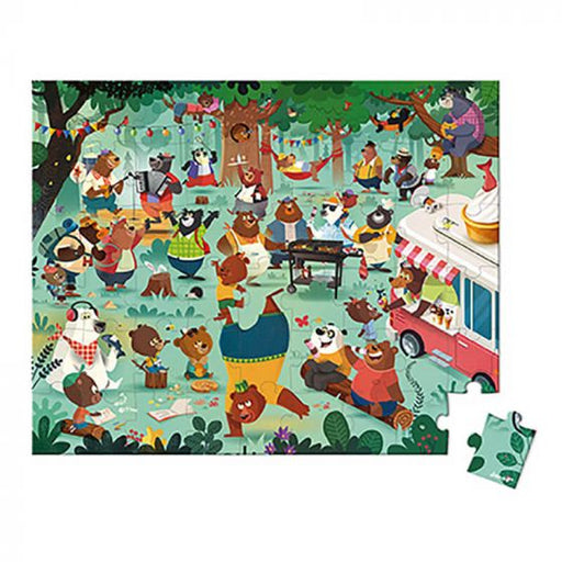 54 pc Puzzle Family Bears by Janod