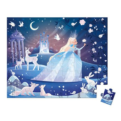 54 pc Puzzle The Ice Queen by Janod