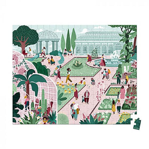 200 pc Puzzle Botanical Garden by Janod
