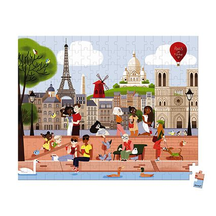 200 pc Puzzle Paris by Janod