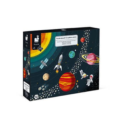 100pc Educational Puzzle Solar System by Janod
