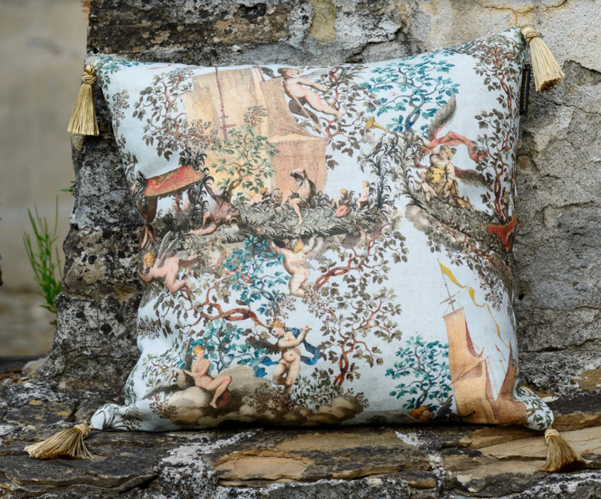Journey to Eden Cushion by Mindthegap