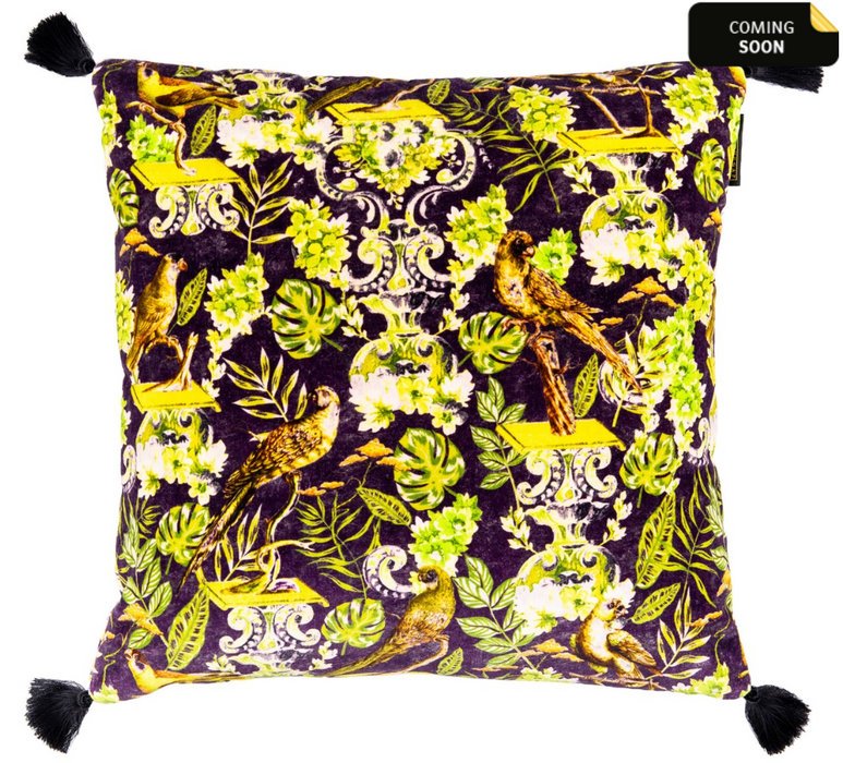 La Voliere Cushion by Mindthegap
