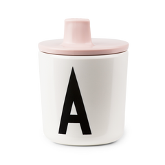 Design Letters Kids Sippy Cup / Drink Lid for Melamine Cup