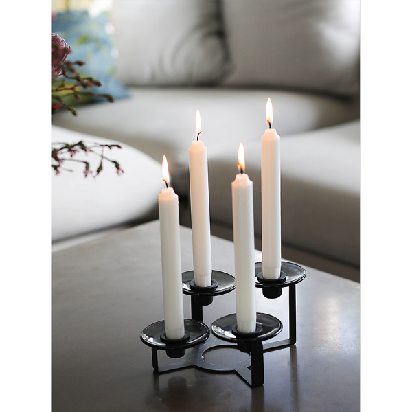 Lumi Candle Holder and Candle-Cuffs by Holmegaard