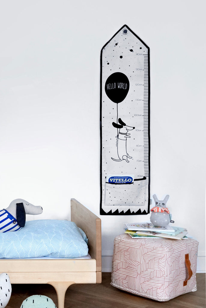 Hello World Measuring Board by OYOY Mini