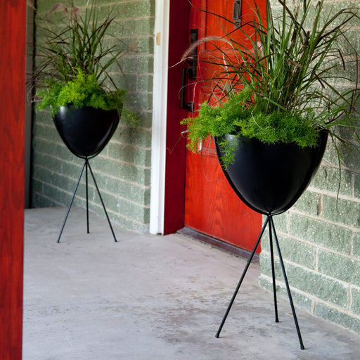 Tall Retro Bullet Planter by Hip Haven