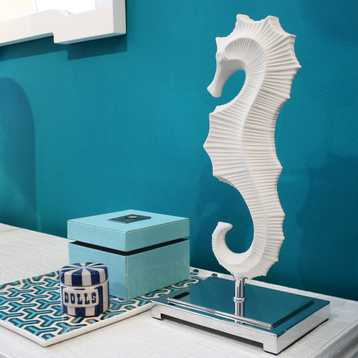 Seahorse Sculpture by Jonathan Adler