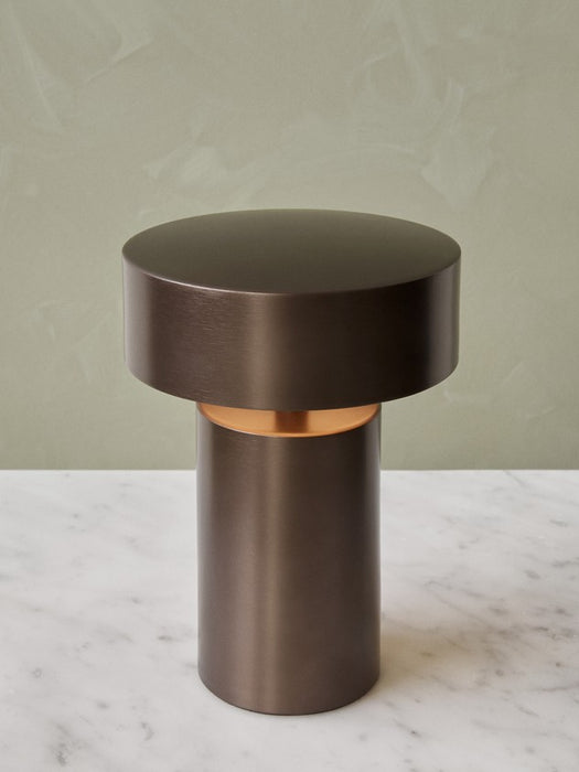 Column LED Portable Table Lamp by Menu